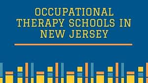 Occupational Therapy Schools in New Jersey