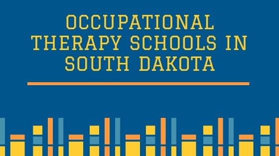Occupational Therapy Schools in South Dakota