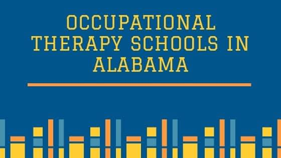 Occupational Therapy Schools in Alabama