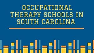 Occupational Therapy Schools in South Carolina