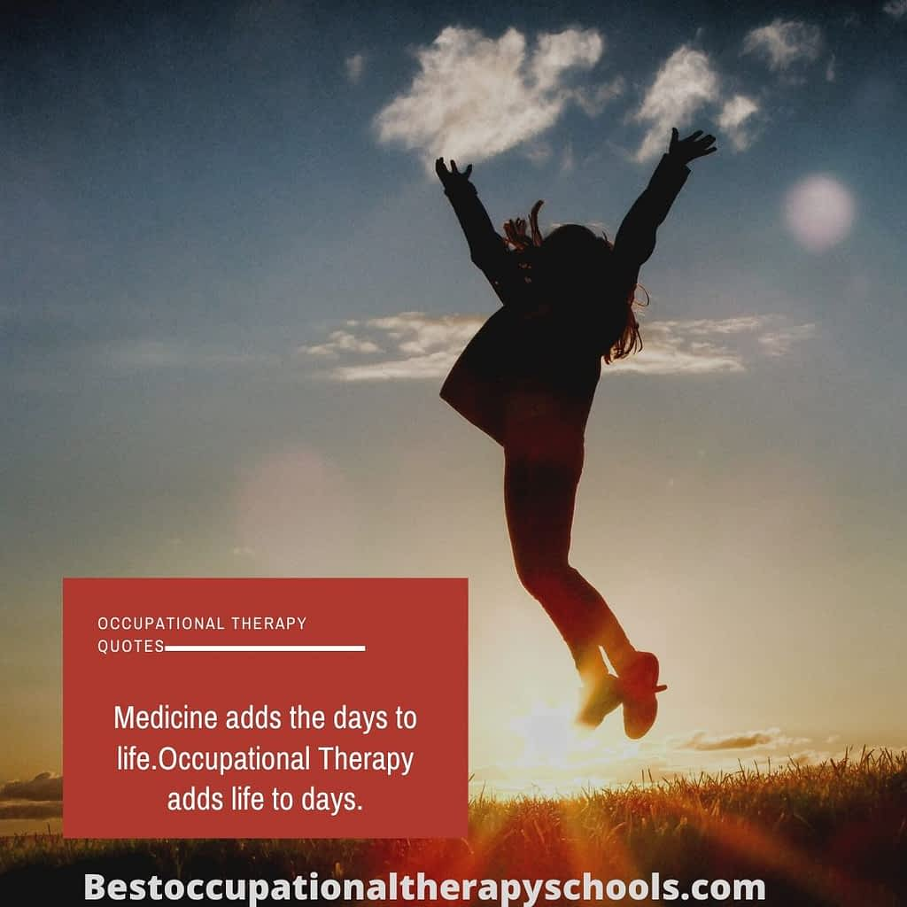 Occupational Therapy Quotes and sayings