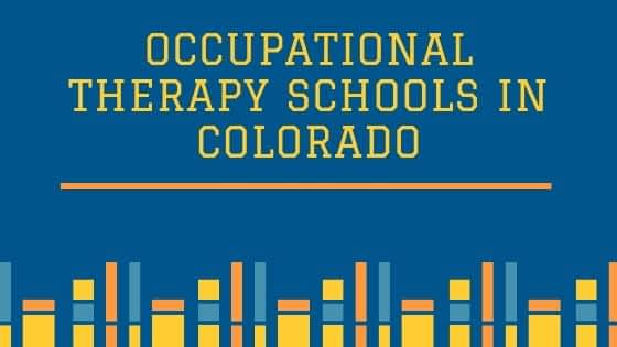 Occupational Therapy Schools in Colorado